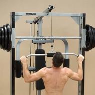 Опция тренажёра машина Смита - верхняя тяга BODY SOLID POWERLINE PLA144, фото 1