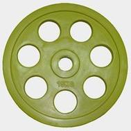 Олимпийский диск евро-классик с хватом Ромашка, 15 кг., фото 1