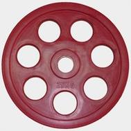 Олимпийский диск евро-классик с хватом Ромашка, 25 кг., фото 1