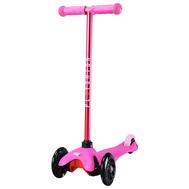 Самокат со светящимися колесами PLAYSHION FS-MS001LP (Розовый), фото 1