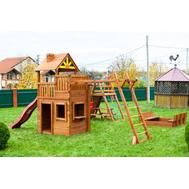 Детская игровая площадка ВЫШЕ ВСЕХ КРЕПОСТЬ ВИКИНГОВ, фото 1