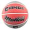 Баскетбольный мяч - AND1 MOTION RED/GREY, фото 1